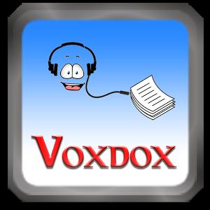 voxdox adalah salah satu aplikasi android yang dapat digunakan untuk belajar